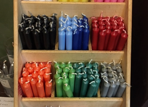 Assorted mini candles