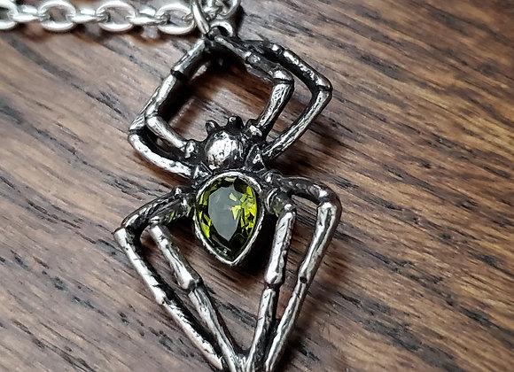 Spiderling necklace