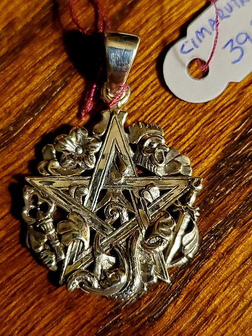 Pentagram/Cimaruta Pendant