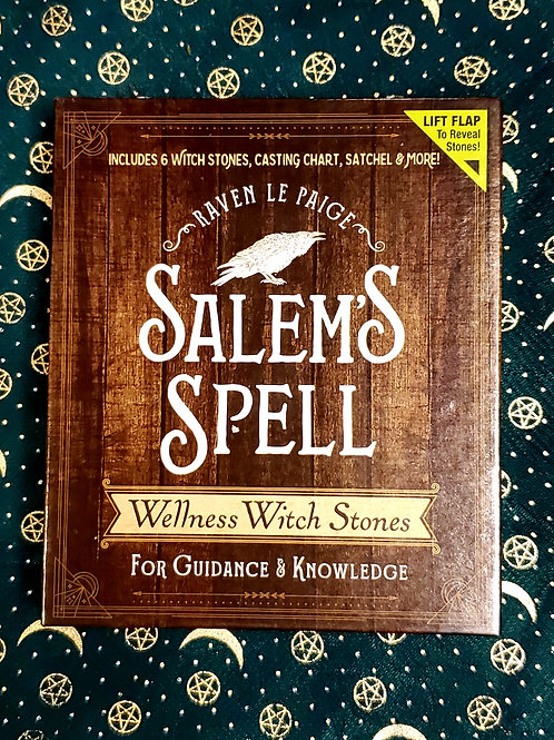 Salem's Spell Wellness Witch Stones for Guidance and Knowledge