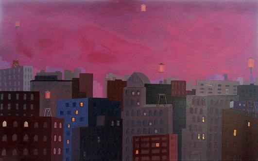 Magic City at Night