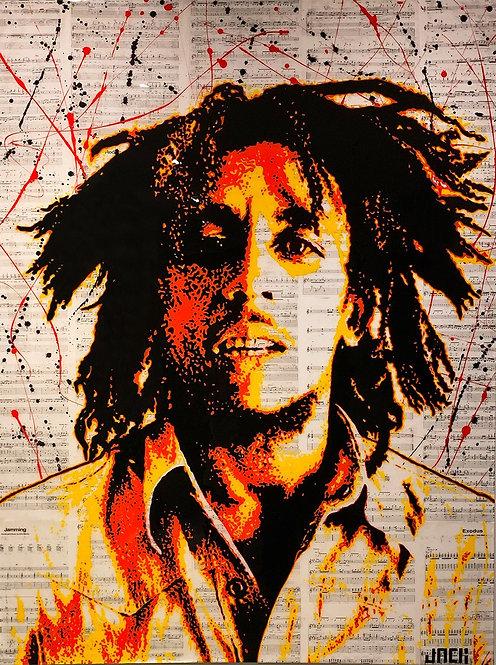 A Portrait of Bob Marley