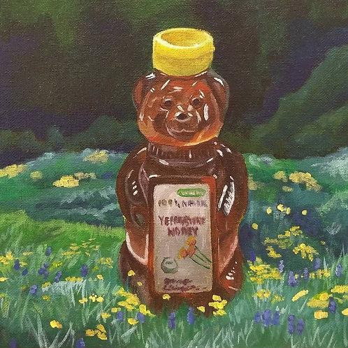 Honey Bear in Yellowstone