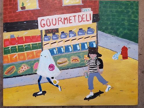 Quick skate to the bodega