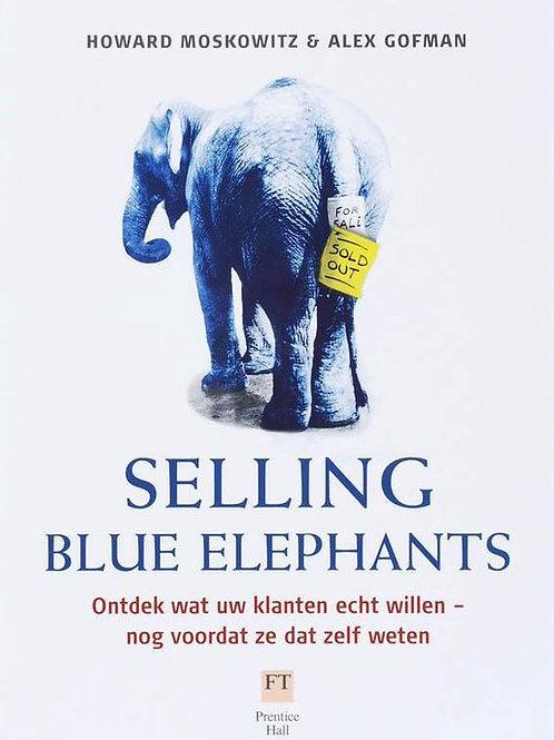 Selling blue elephants
