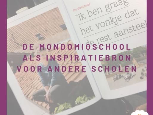 De MONDOMIO-school als inspiratiebron voor andere scholen