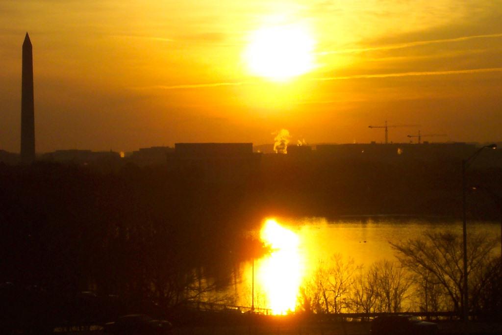 Sunrise w Abe & George