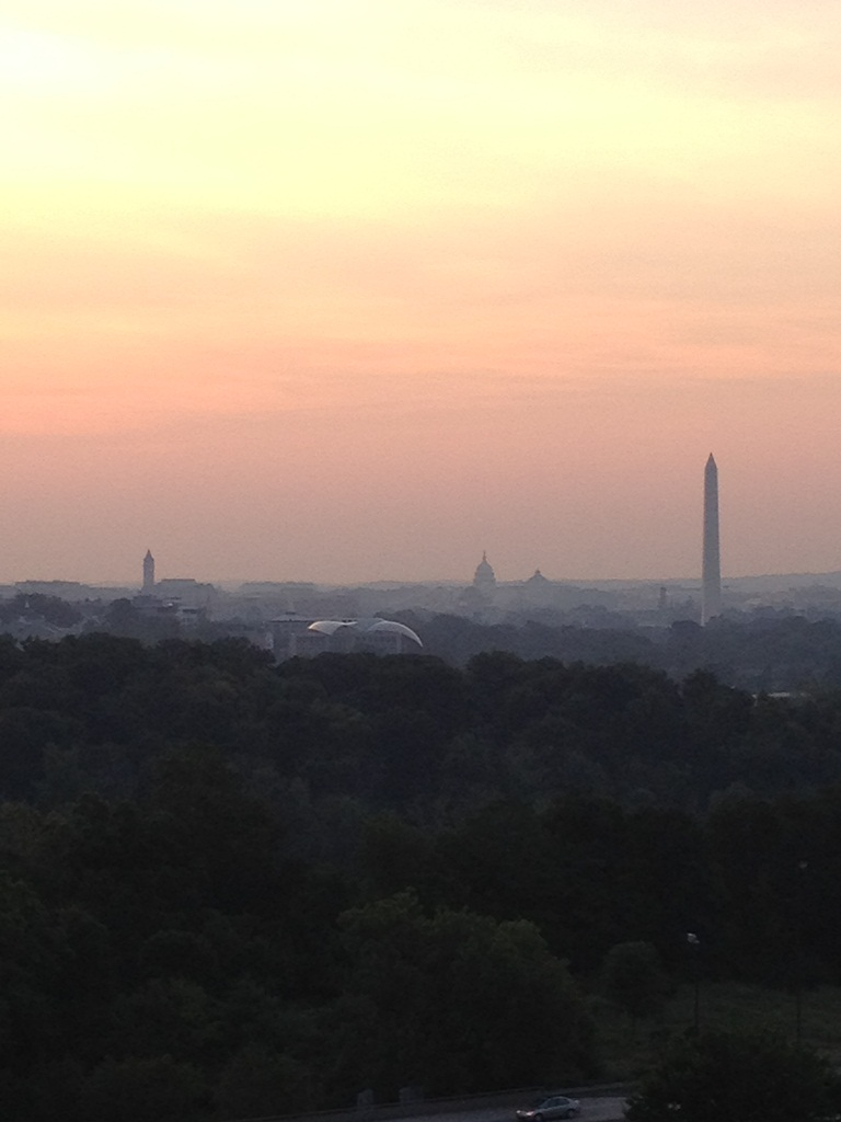 Washington Monument at Sunrise 3