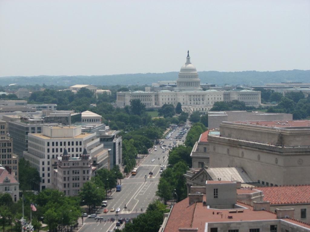 Pennsylvania Avenue Leading to Capitol