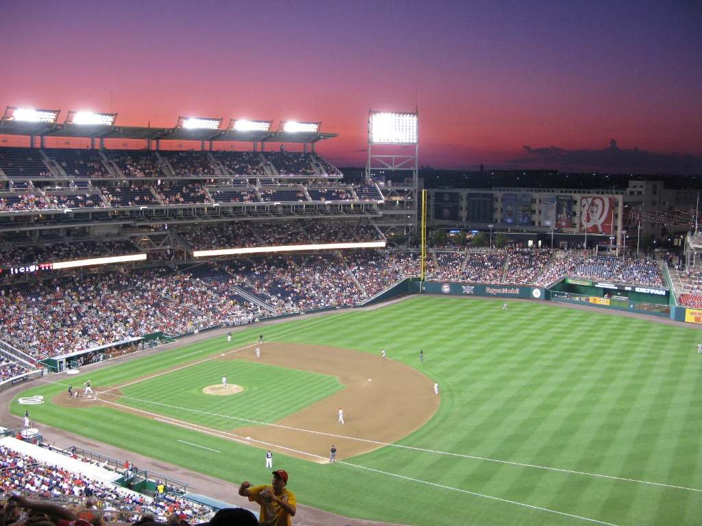 Nationals Park at Sunset