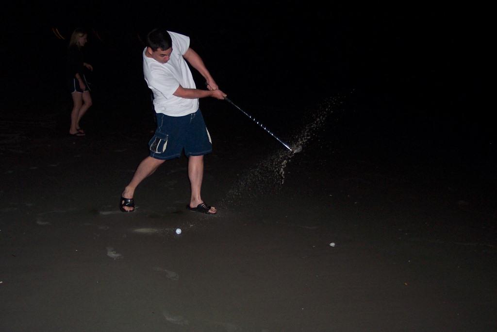 Golf on the Beach