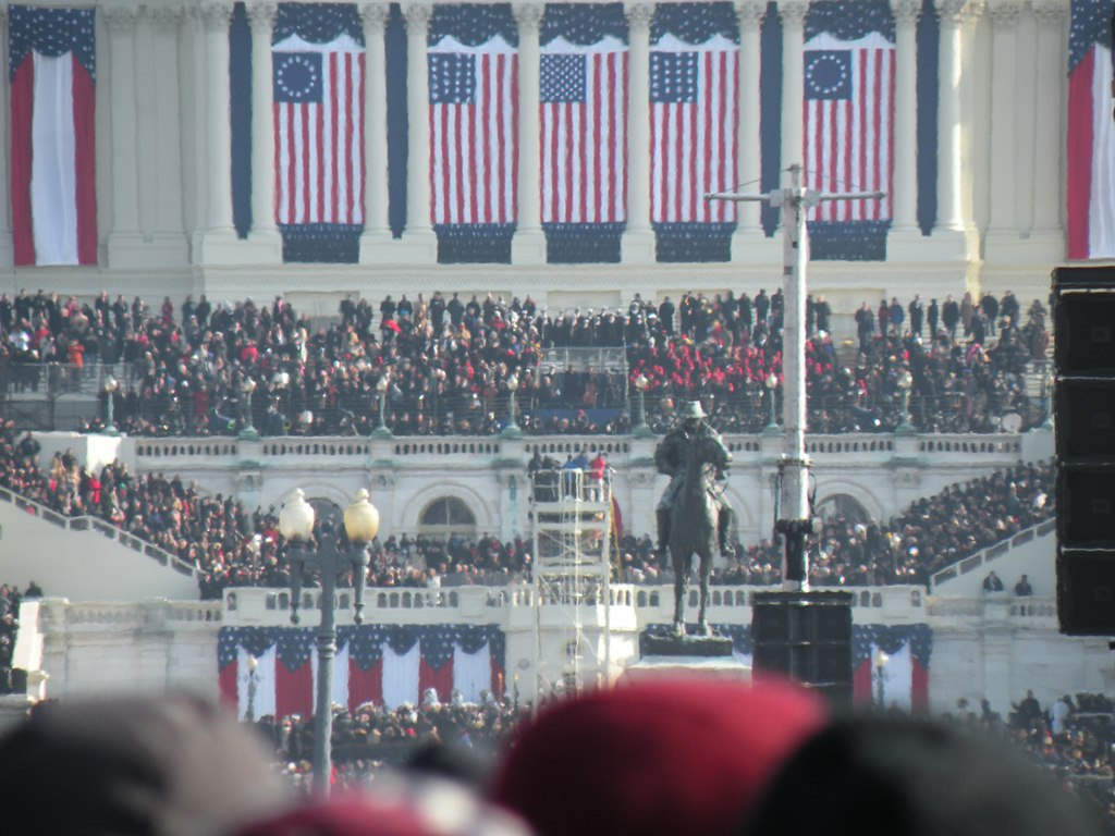Capitol during Obama Inauguration 2