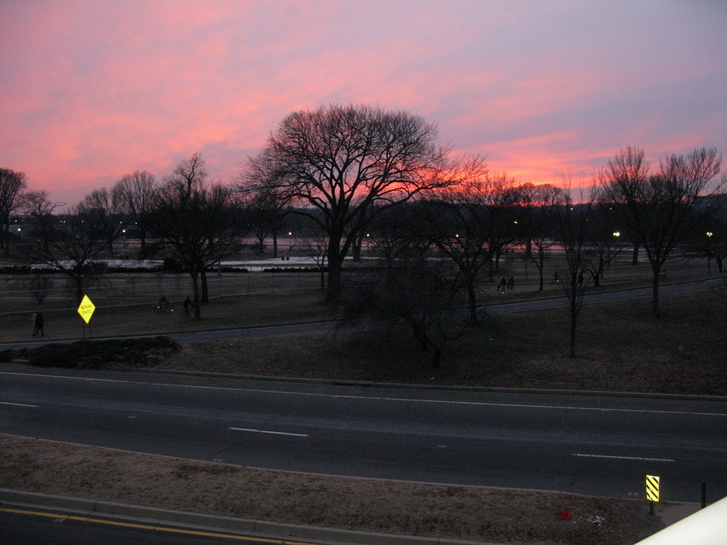 Sunset on DC