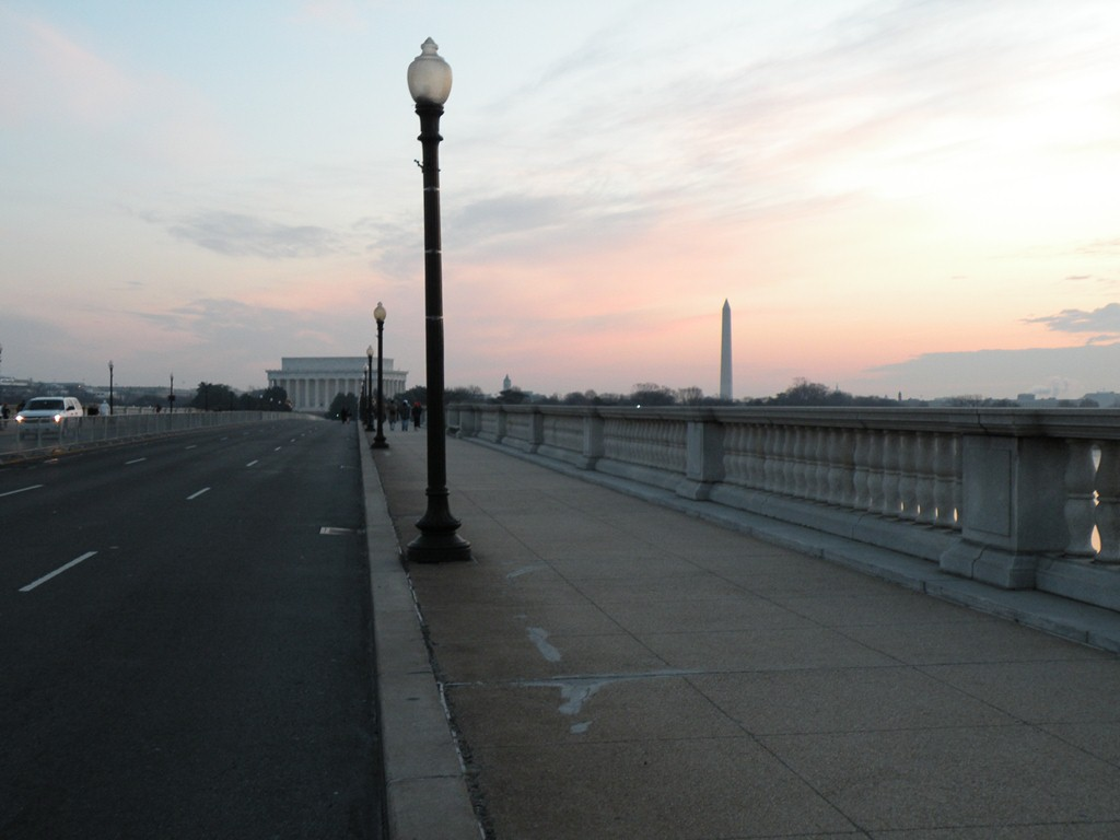 Sunset from Memorial Bridge