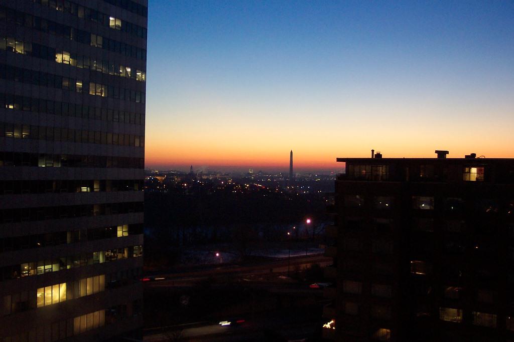 Washington at sunset 2