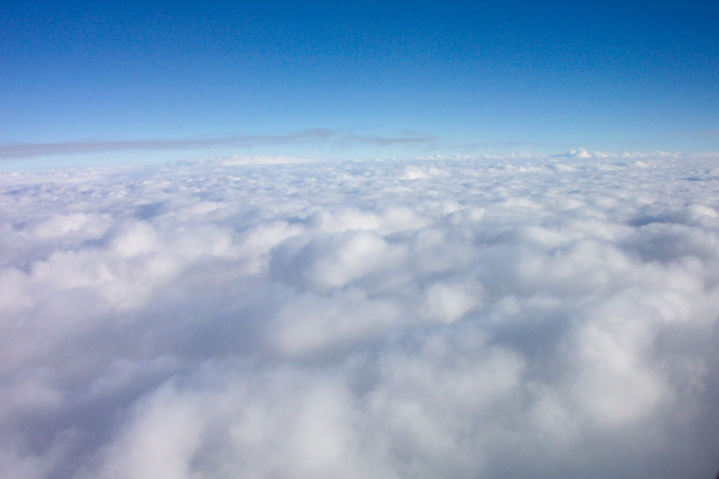 Looking Down on the Clouds