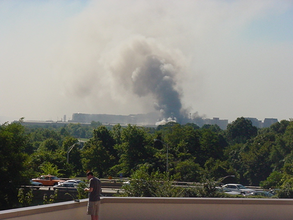 Pentagon during 9-11 Attack