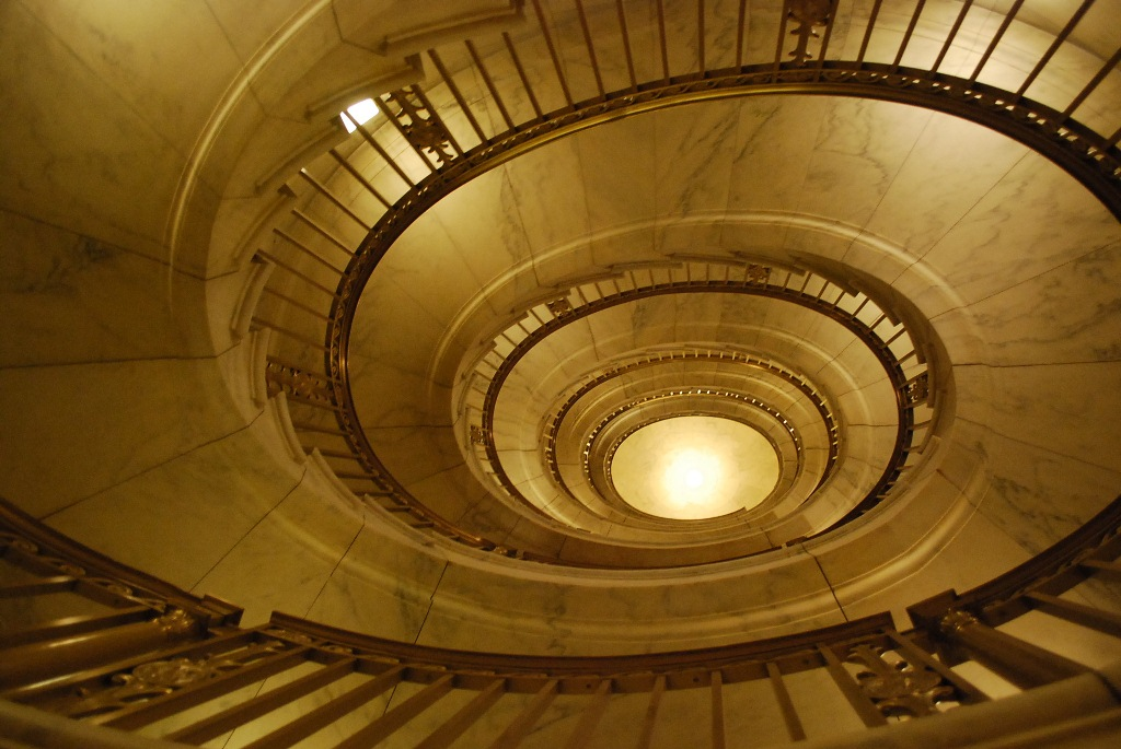 Marble Staircase in Supreme Court