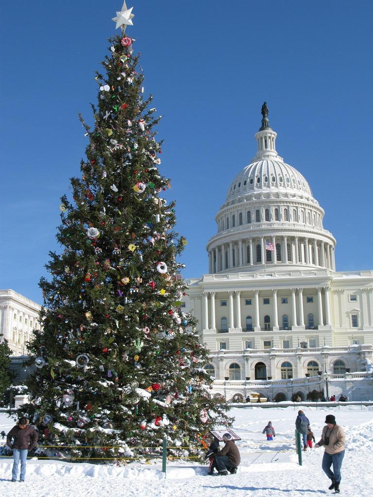 Capitol at Christmas