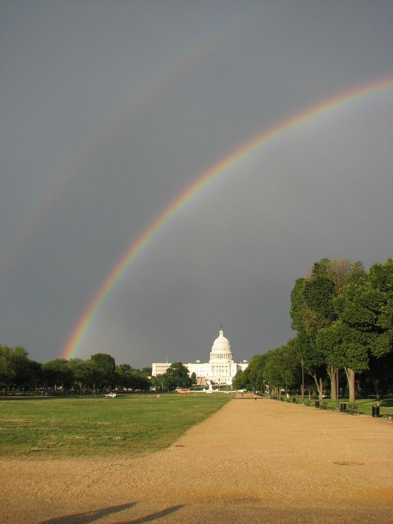 Rainbow over the Capital