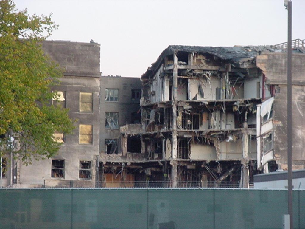 Pentagon after 9-11
