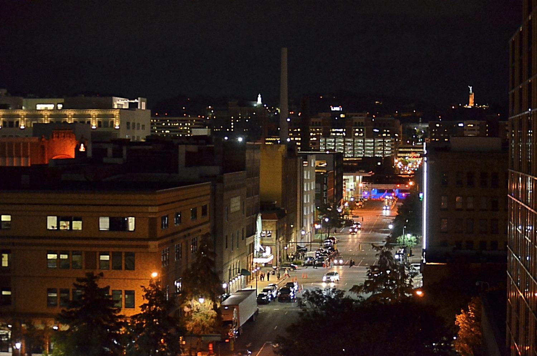 18th Street at Night