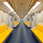 Yellow Subway Seats