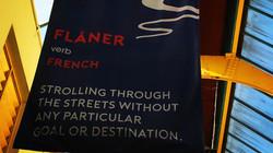 A flâneur in Westfield
