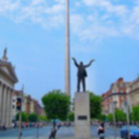 Jim Larkin statue on O'Connell Street
