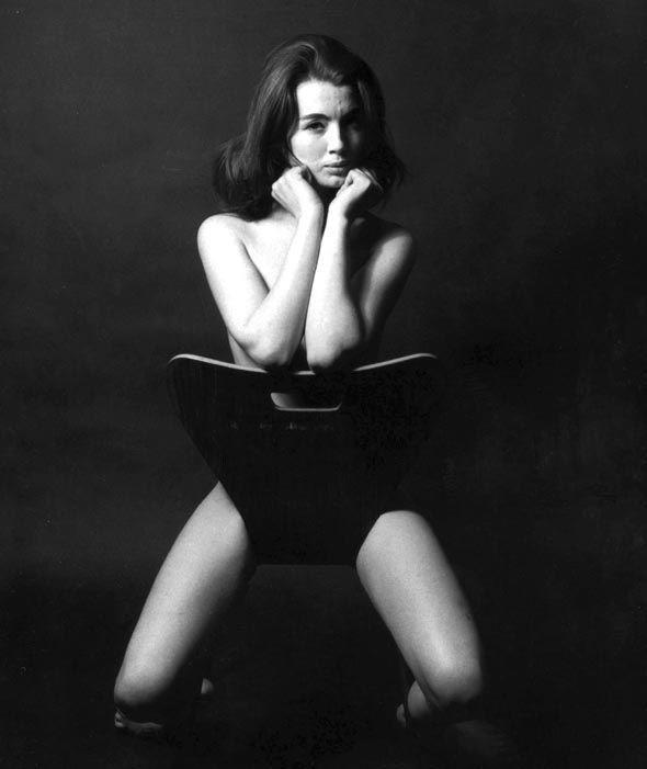 Christine Keeler, Peter Cook's Establishment Club, Soho London 1963