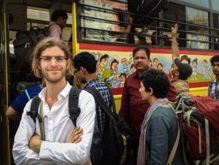 Sven and Nichon - One month in India - Part 2