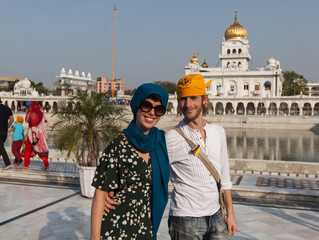 Sven and Nichon - One month in India - Part 1