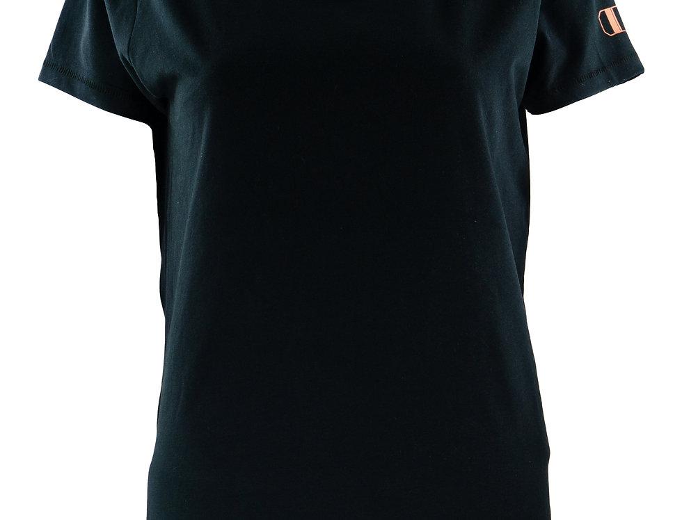 schwarz Slim- Fit- Shirt