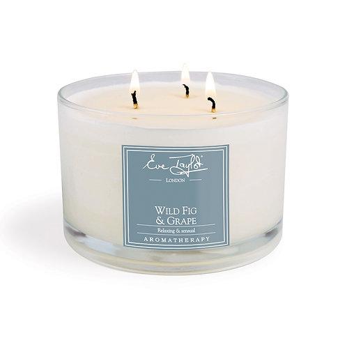 Wild Fig & Grape 3 Wick AromaWax Candle