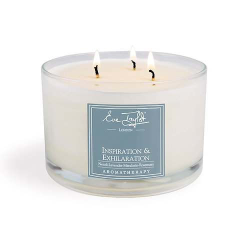 Inspiration & Exhilaration 3 Wick Aroma Wax Candle