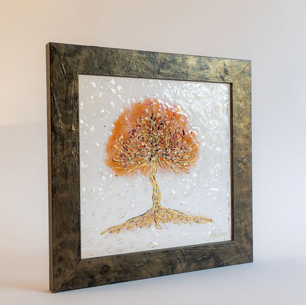 Tree of Life in Rosegold
