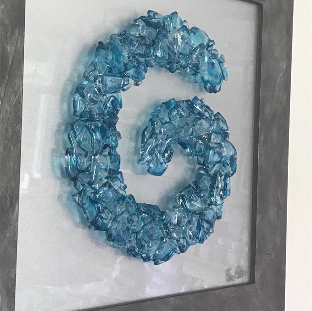 Lifecycle in Aquamarine Blue