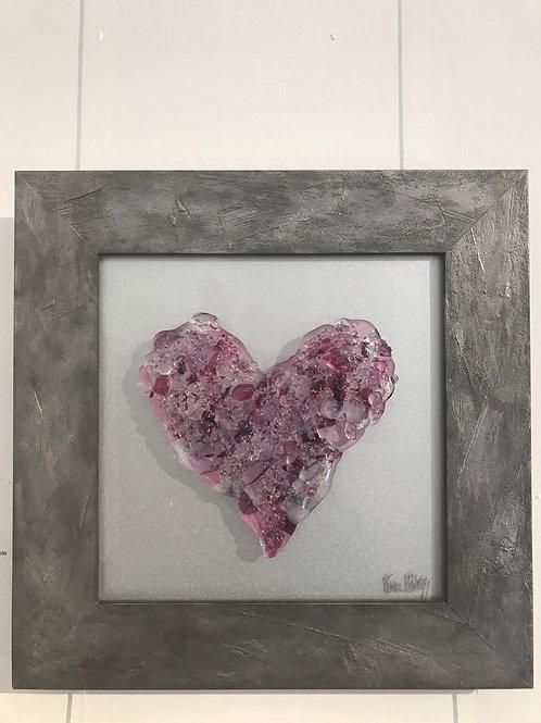 Heart Beat in Purple