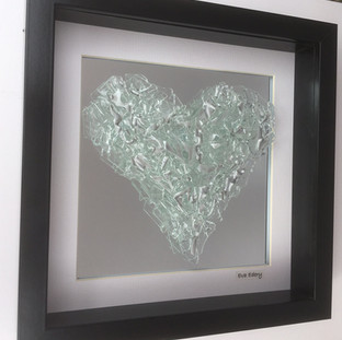 Heart Beat in clear on mirror