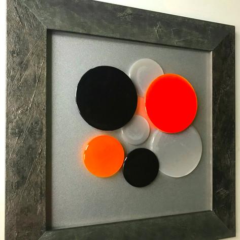 Joie de Vivre Black & Orange