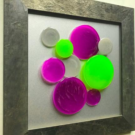 Joie de Vivre  Purple & Green