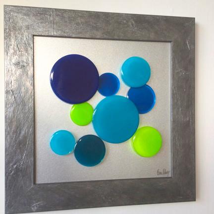 Joie de vivre in blue and green