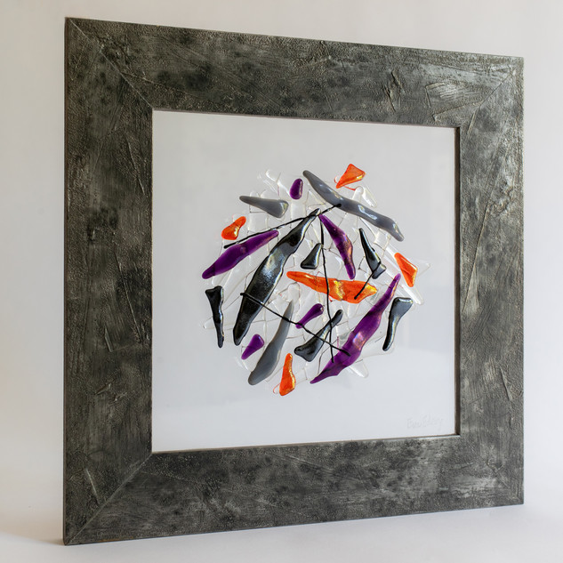 Finding the balance in purple & orange
