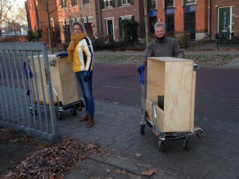 Boompje geplant in de International School Twente