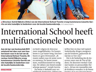 International School heeft een multifunctionele boom