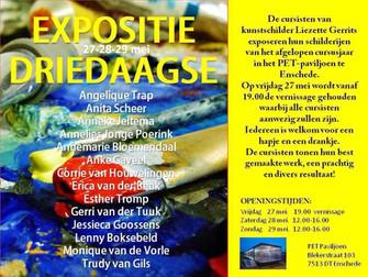 Expositie Driedaagse PET-paviljoen       27-28-29 mei