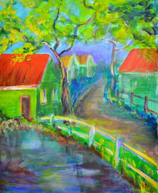 acryl, 50x60 cm, titel Holysloot.JPG