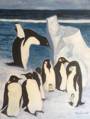 acryl, 60x80 cm, pinguins.jpg