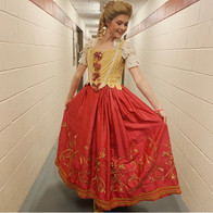 Beauty and the Beast Costume Fitting