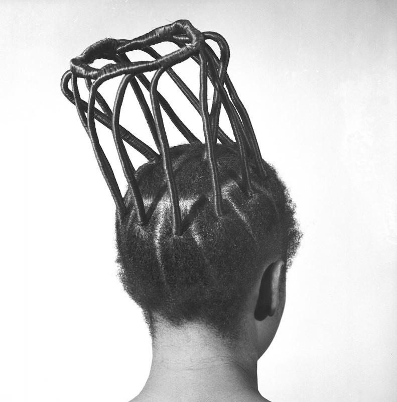 Okhai Ojeikere - hairstyles